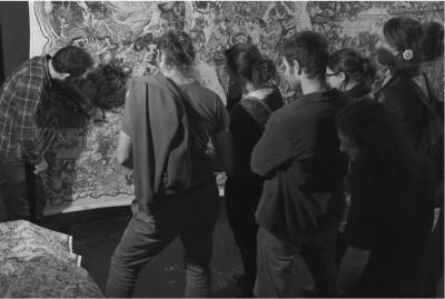 PHOTO-VERNISSAGE-2-CARLES-BEEHIVE-COLLECTIVE-CRACK-FANZINO-2014